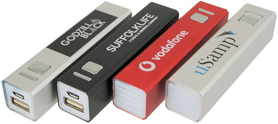 Power Bank Charger Branded Gifts