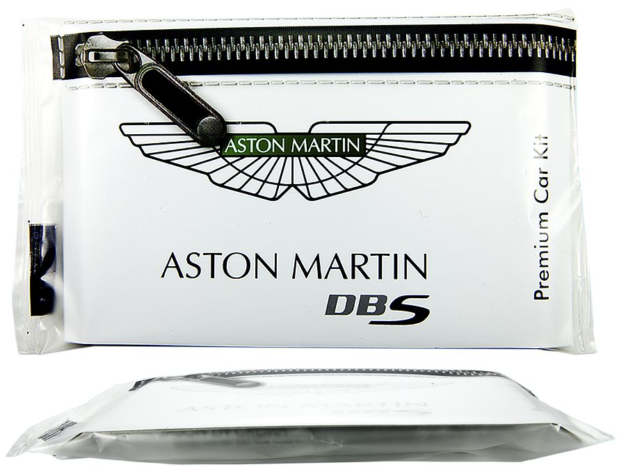 Aston Martin Printed Hygiene Packs