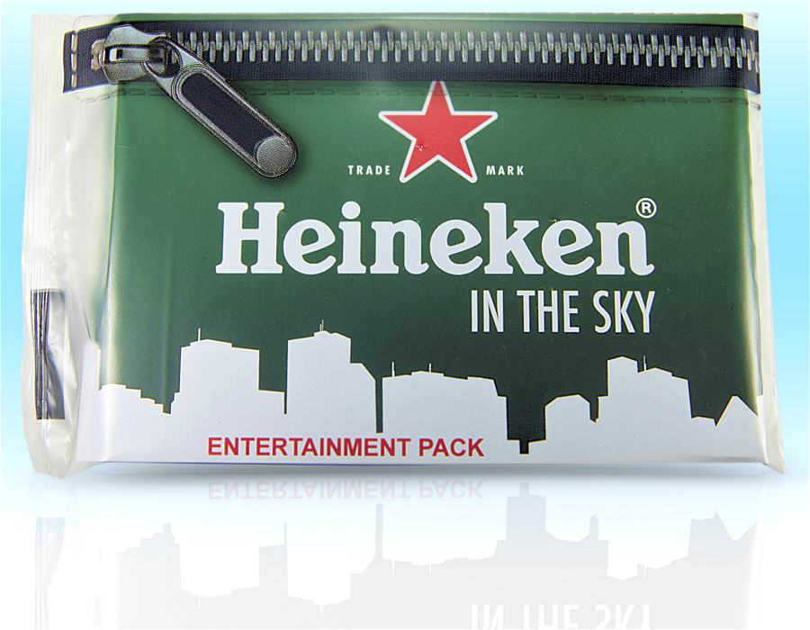Heineken Printed Hygiene Packs
