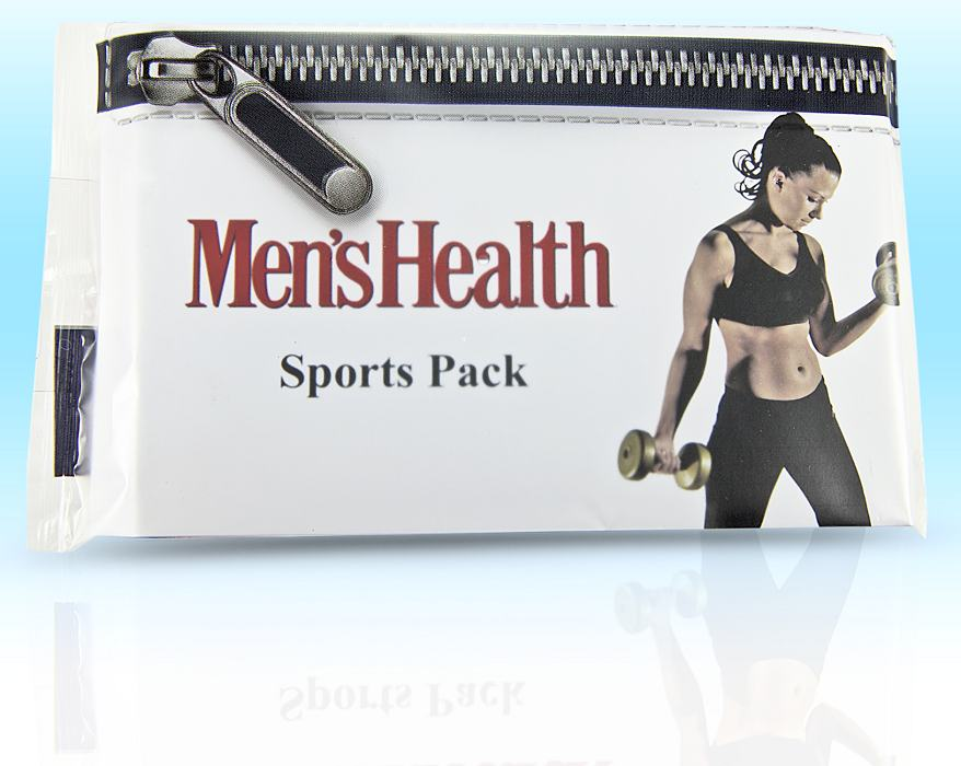 Men's Health Printed Hygiene Packs