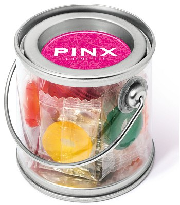 Promo Sweets Polo Fruits in a Mini Bucket