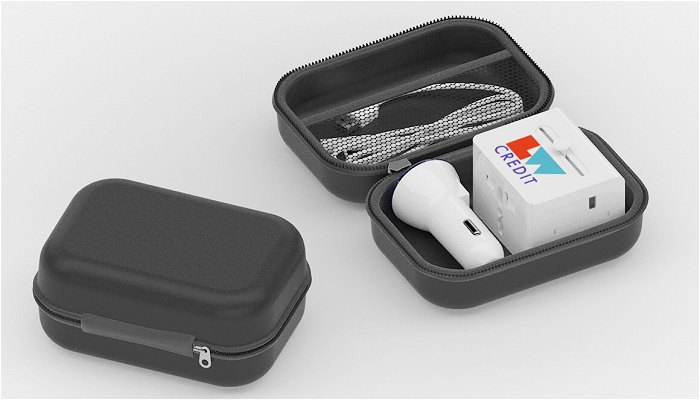 Promotional International Travel Kit with zipped case