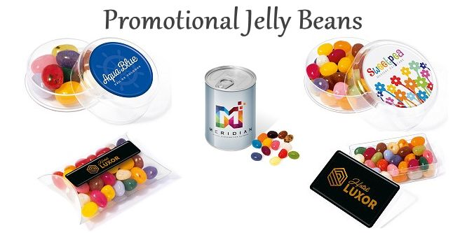 Promotional Jelly Beans Branded With Your Custom Logo