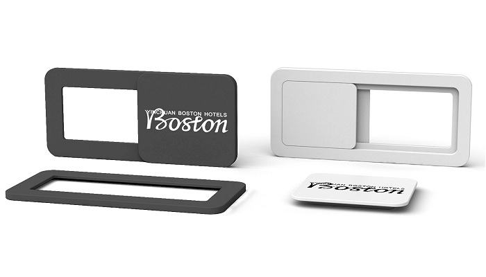 Branded & Promotional Webcam Covers black & white