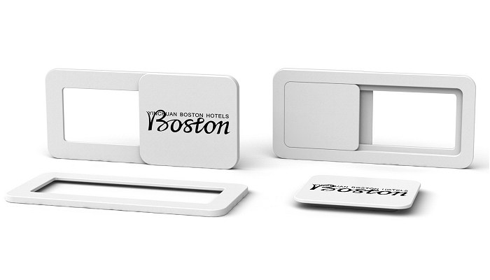 Branded & Promotional Webcam Covers in white