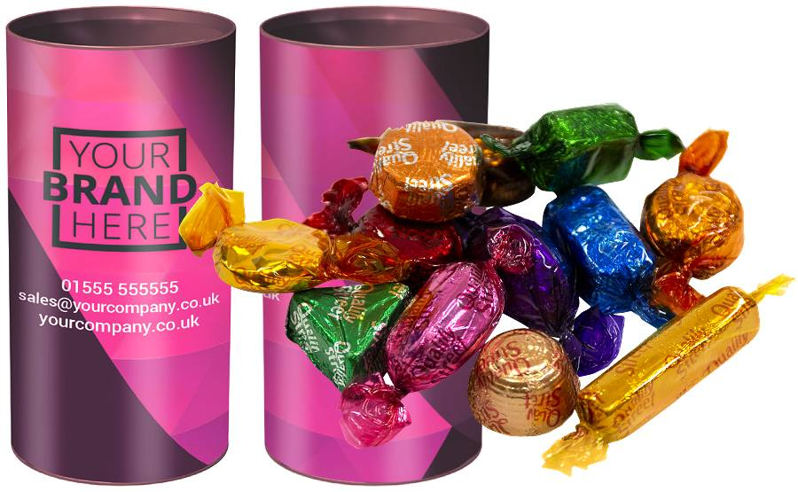 Promotional Tubes of Quality Street
