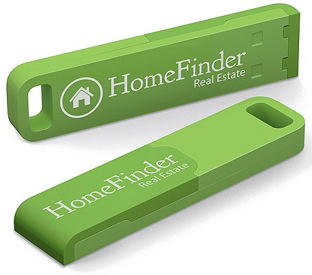 Rugged USB Stick in green