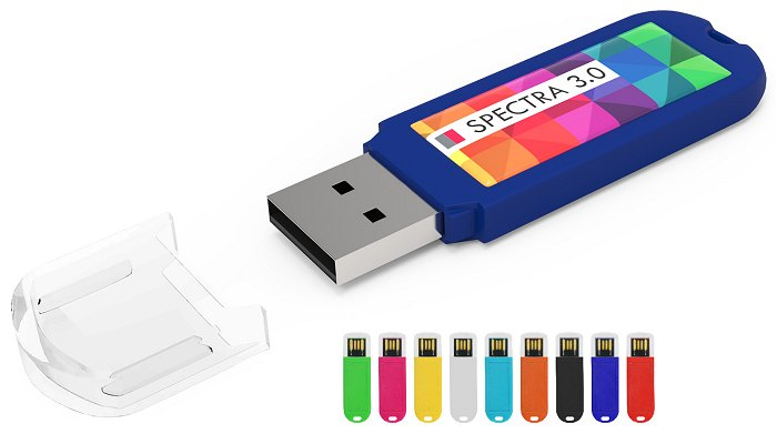 Spectra 3.0 USB Stick Dome Printed