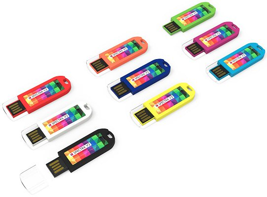 Spectra V2 USB Stick Dome Logo nine body colours
