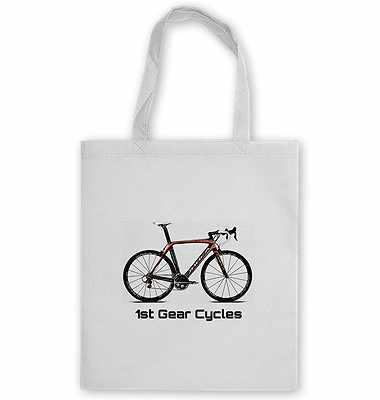 Tote Bag Promotional Giveaway white colour fabric full colour print