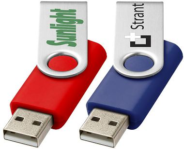 Twister USB Flash Drives Twister drive metal shield