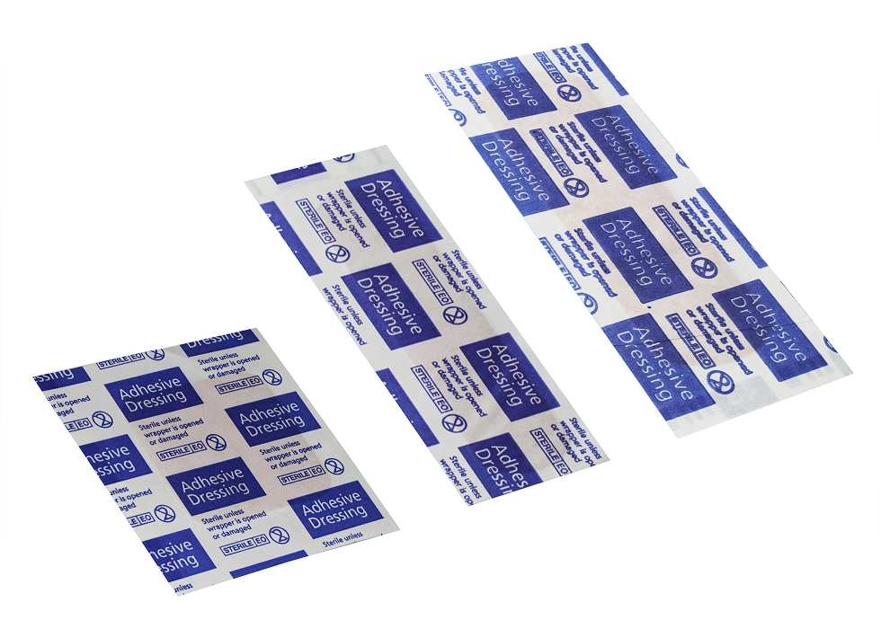 Washproof Sterile Plasters Three Assorted